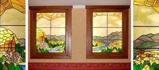 Изготовление художественного стекла